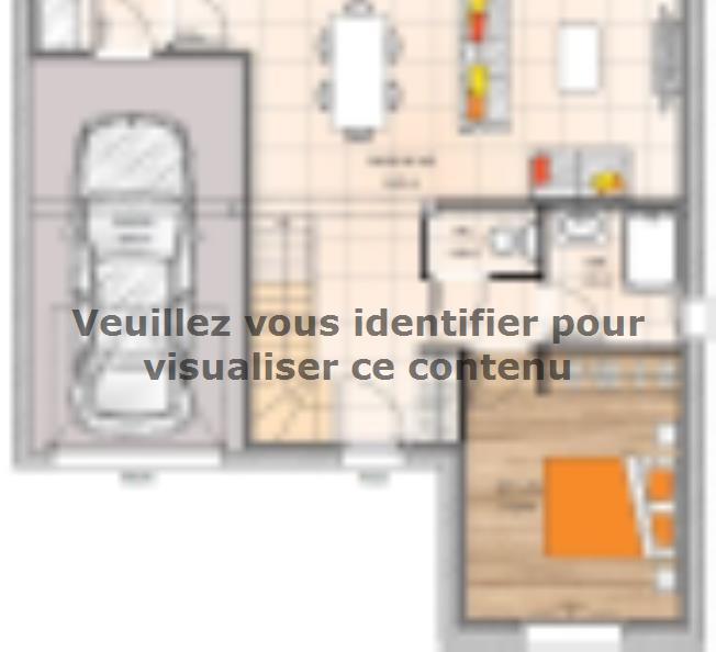 Plan de maison RCA1891-3GI : Vignette 1