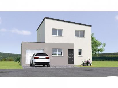 Modèle de maison R1MP18103-4GA 4 chambres  : Photo 1