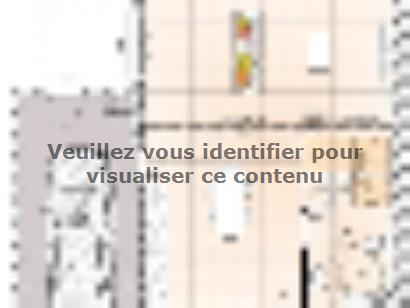 Plan de maison R1MP18103-4GA 4 chambres  : Photo 1