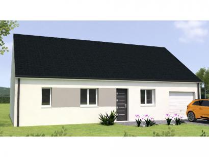 Modèle de maison PP1884-3GI 3 chambres  : Photo 1