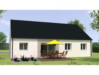 Modèle de maison PP1884-3GI 3 chambres  : Photo 2