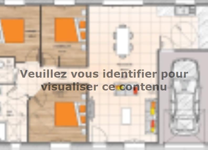 Plan de maison PP1884-3GI : Vignette 1