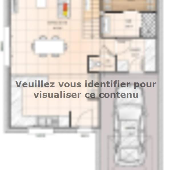 Plan de maison R1MP18106-3MGI : Vignette 1