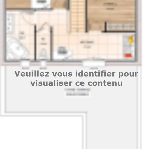 Plan de maison R1MP18106-3MGI : Vignette 2