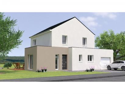 Modèle de maison R118123-4GA 4 chambres  : Photo 1
