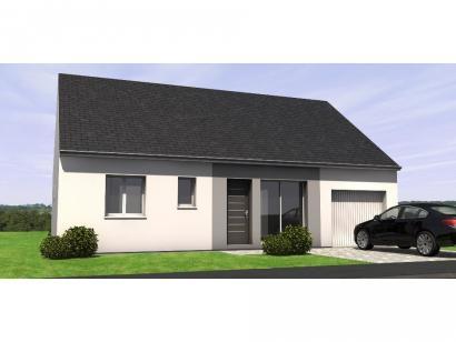 Modèle de maison PP1880-3GI 3 chambres  : Photo 1