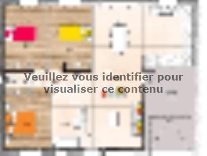 Plan de maison PP1880-3GI 3 chambres  : Photo 1