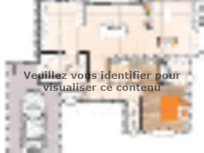Plan de maison R1TT18141-4MGA 4 chambres  : Photo 1