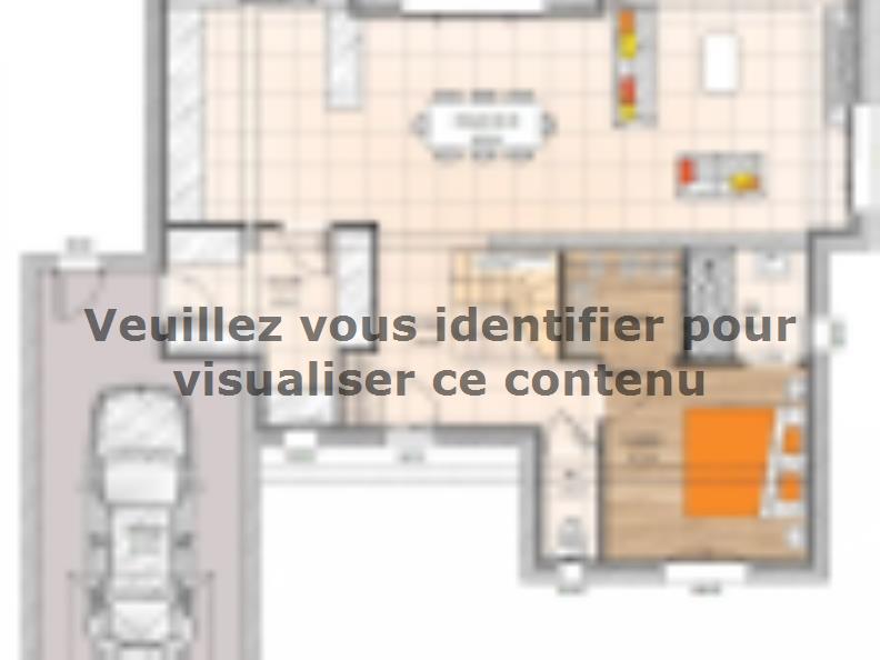Plan de maison R1TT18141-4MGA : Vignette 1