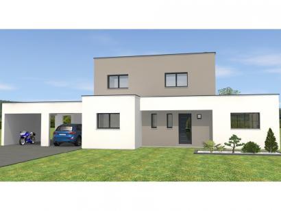 Modèle de maison R1TT18135-4CPA 4 chambres  : Photo 1