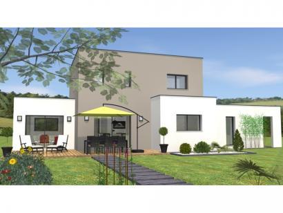 Modèle de maison R1TT18135-4CPA 4 chambres  : Photo 2