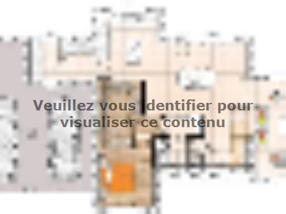 Plan de maison R1TT18135-4CPA 4 chambres  : Photo 1