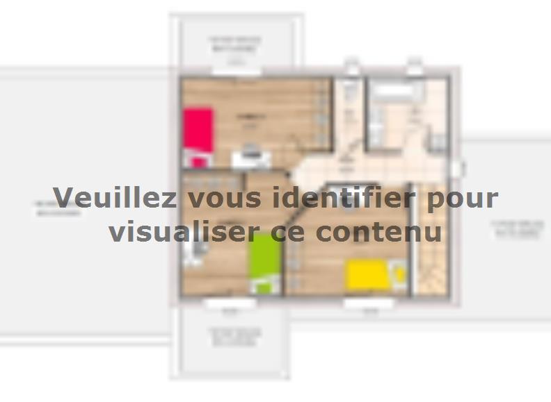 Plan de maison R1TT18135-4CPA : Vignette 2