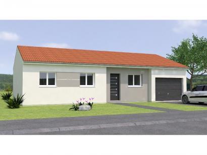 Modèle de maison PP1892-3GI 3 chambres  : Photo 1