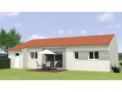 Modèle de maison PP1892-3GI 3 chambres  : Photo 2