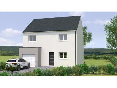 Modèle de maison R119104-4GI 4 chambres  : Photo 1