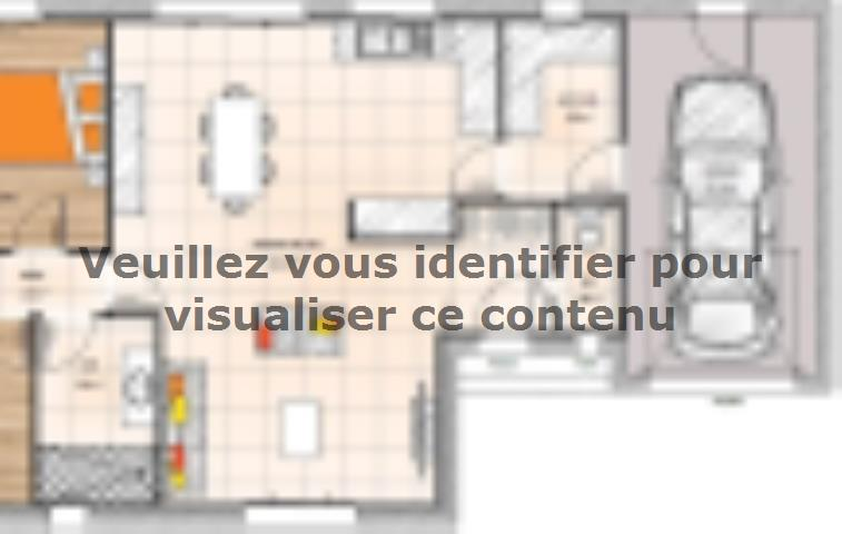Plan de maison PPMP1984-2GI : Vignette 1