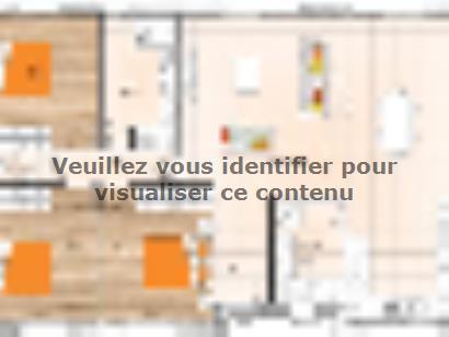 Plan de maison PP19100-3 3 chambres  : Photo 1