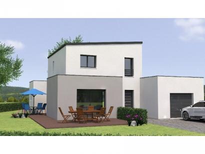 Modèle de maison R1MP19132-4GI 4 chambres  : Photo 1