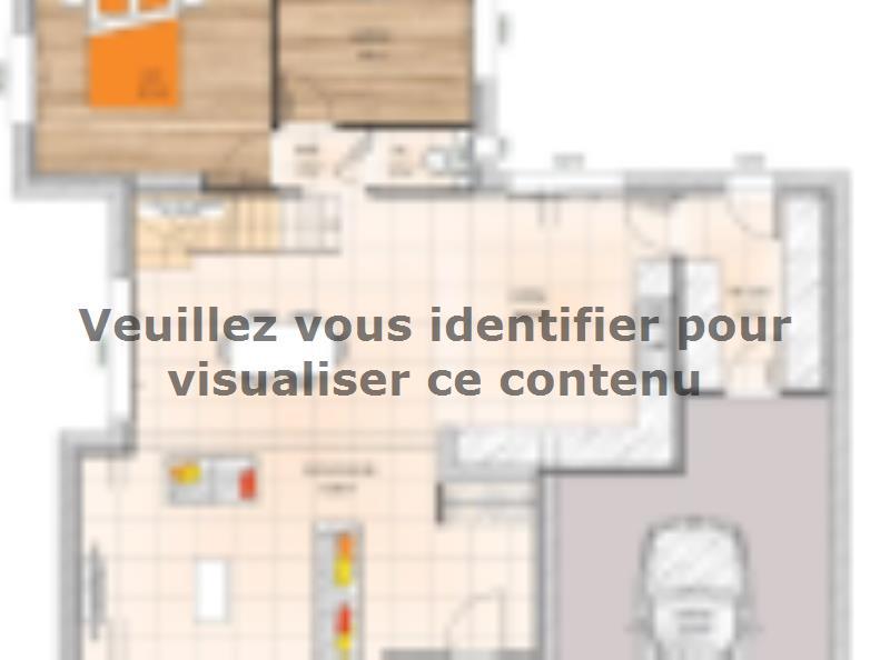 Plan de maison R1MP19132-4GI : Vignette 1