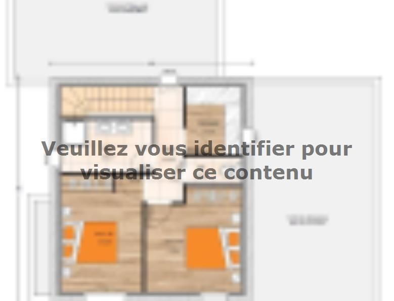 Plan de maison R1MP19132-4GI : Vignette 2