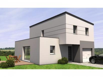 Modèle de maison R1MP20105-4GI 4 chambres  : Photo 1