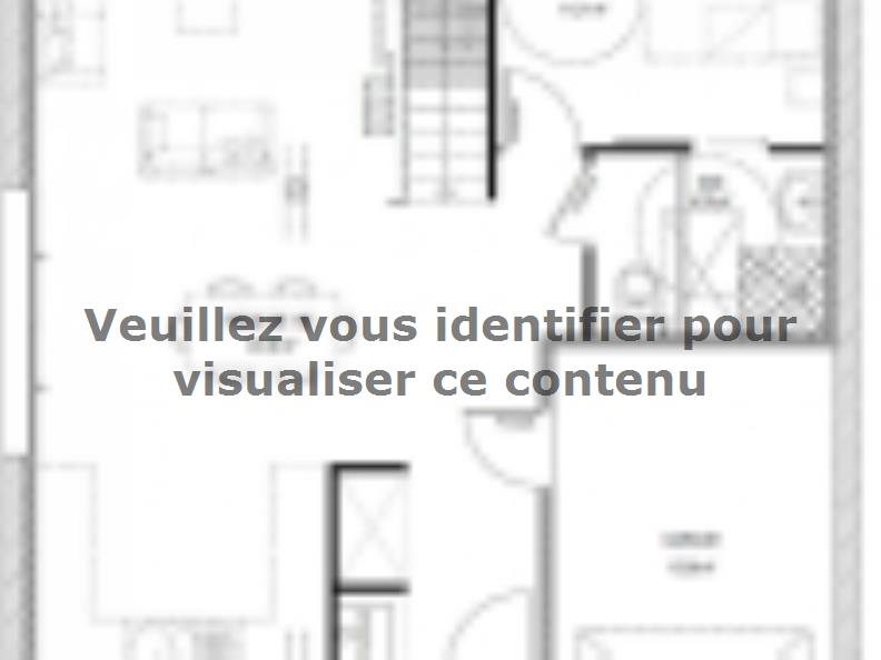 Plan de maison R1MP20105-4GI : Vignette 1