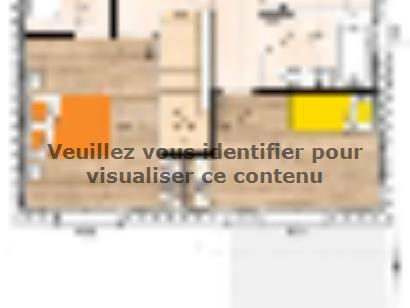 Plan de maison R1MP20117-4GI 4 chambres  : Photo 2