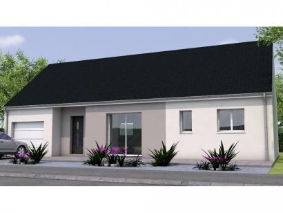 Modèle de maison PP1981-2GI 2 chambres  : Photo 1