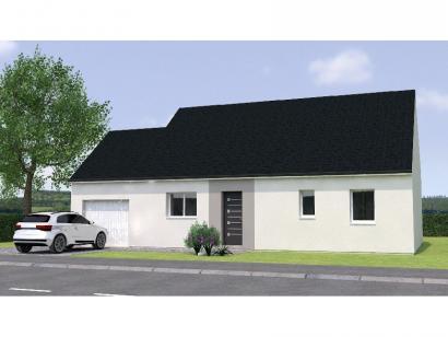 Modèle de maison PP1984-3GA 3 chambres  : Photo 1