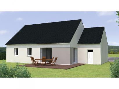 Modèle de maison PP1984-3GA 3 chambres  : Photo 2