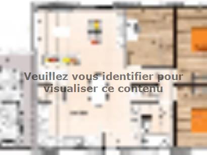 Plan de maison PP1984-3GA 3 chambres  : Photo 1