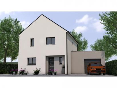 Modèle de maison R119108-4GA 4 chambres  : Photo 1