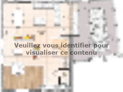 Plan de maison R119108-4GA 4 chambres  : Photo 1