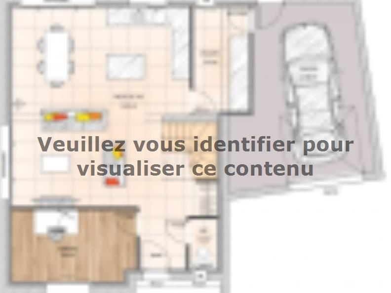 Plan de maison R119108-4GA : Vignette 1