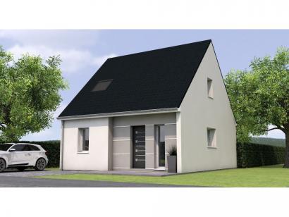 Modèle de maison RCA1975-3 3 chambres  : Photo 1