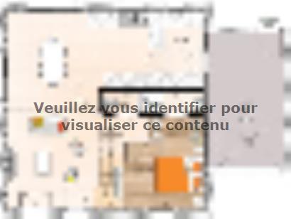 Plan de maison RCA1996-4GA 4 chambres  : Photo 1