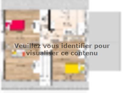Plan de maison RCA1996-4GA 4 chambres  : Photo 2
