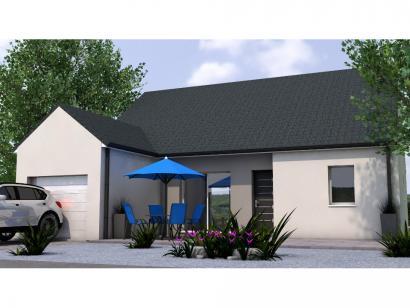 Modèle de maison PPL1989-3GI 3 chambres  : Photo 1