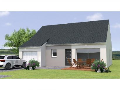 Modèle de maison PP1984-3GI 3 chambres  : Photo 1