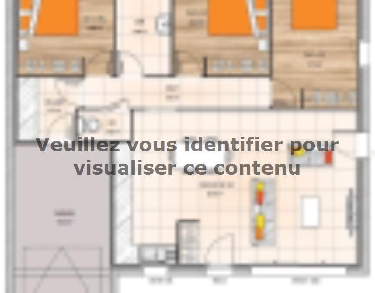 Plan de maison PP1984-3GI : Vignette 1