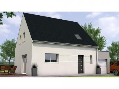 Modèle de maison RCA1996-4GA 4 chambres  : Photo 1