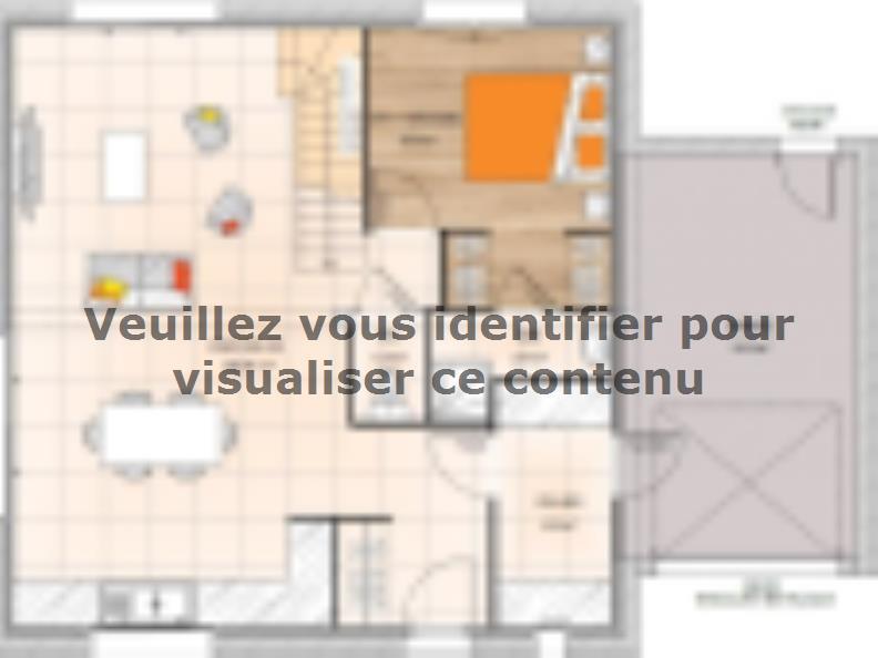 Plan de maison RCA1996-4GA : Vignette 1