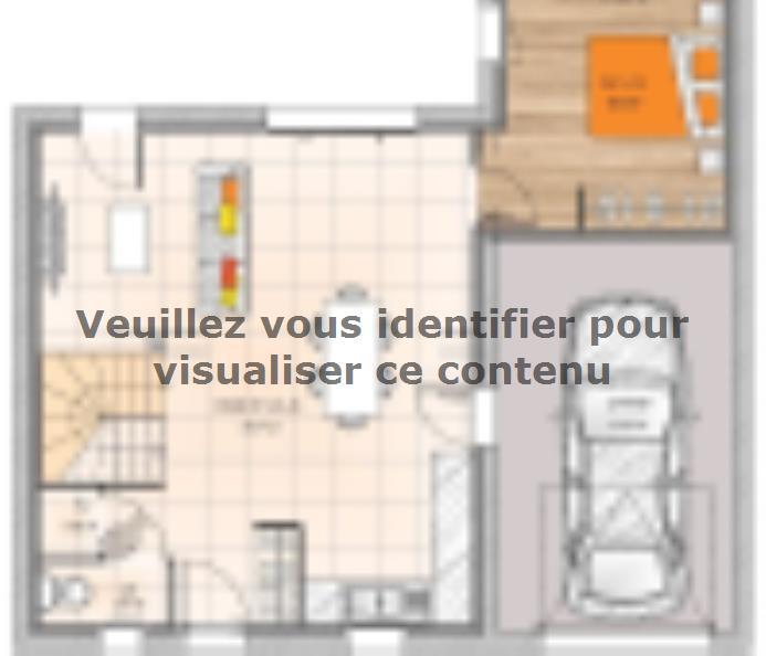 Plan de maison R1MP1990-3MGI : Vignette 1