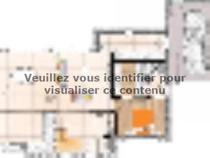 Plan de maison R1MP19133-3BMGA 4 chambres  : Photo 1