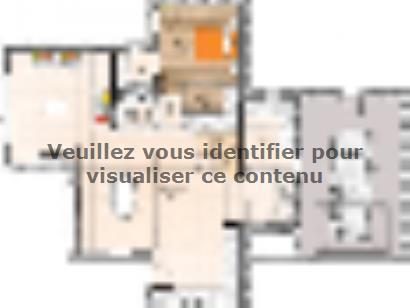 Plan de maison R119138-4GA 4 chambres  : Photo 1