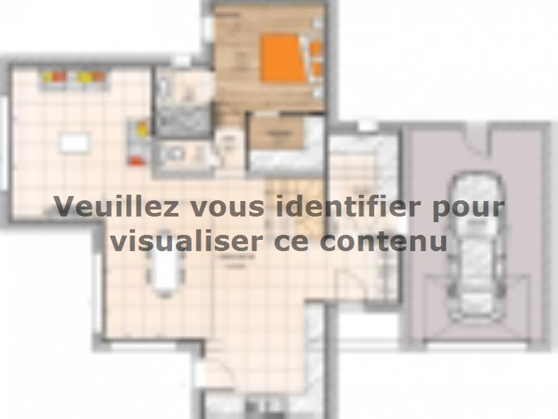 Plan de maison R119138-4GA : Vignette 1