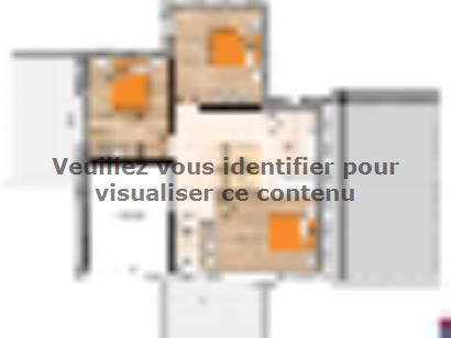 Plan de maison R119138-4GA 4 chambres  : Photo 2