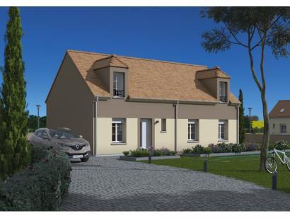 Maison neuve  à  Saint-Siméon (77169)  - 222000 € * : photo 1