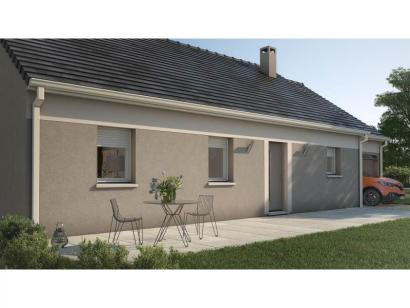 Maison neuve  à  Saint-Siméon (77169)  - 178000 € * : photo 2